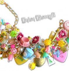WASH YOUR TEAS charm bracelet by Brise Risvegli