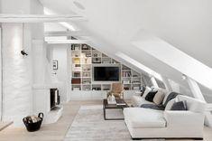 Waarom een schuin plafond geen belemmering hoeft te zijn - Roomed