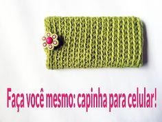 Modernizando o crochê: Capinha para celular (crocheted mobile case)