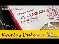 Bebida saciante de Agar Agar (Ataque) | Recetas Dukan Maria Martinez