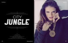 Abril - Segui la moda. Model: Brenda @ Rebel. Ph: Gonzalo Alipaz.