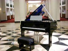 'voie lactée' andrée putman's piano design #pleyel
