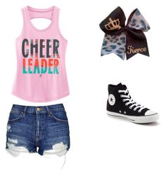 """""""Untitled #18"""" by mandieluver on Polyvore featuring Topshop and Converse"""