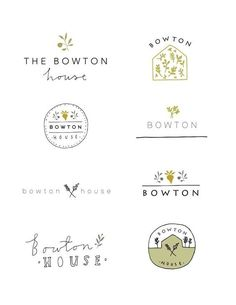 Find tips and tricks, amazing ideas for Minimal logo. Discover and try out new things about Minimal logo site Logo Branding, Logo Café, Logo Inspiration, Cafe Logo, Brand Identity Design, Branding Design, Bd Design, Design Ideas, Logo Fleur