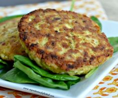 A savory, quick and easy fish cake that makes the perfect afternoon lunch!