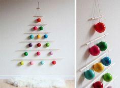 20 ideas originales para que tu árbol de Navidad sea el más bonito del mundo. #ChristmasTree #ÁrbolNavidadOriginal