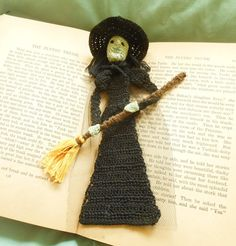 thread crochet pattern: Wicked witch of the by AndersonsCreations