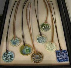 Resultado de imagen de porcelain slip jewelry