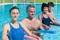 The water exercises for back pain often help in alleviating back pain and also s Severe Back Pain, Upper Back Pain, Yoga For Back Pain, Relieve Back Pain, Neck And Back Pain, Hip Arthritis Exercises, Back Pain Exercises, Pool Exercises, Aerobic Exercises