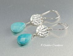 Desirable  Pmc Earrings  by Sharron Sharp on Etsy