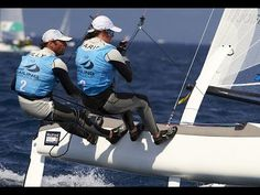 2014 Hyeres Day 4 ISAF Video. TB wearing Yellow vest.....starts around 1.30.