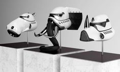 The New Order: Animal Stormtrooper Sculptures By Blank William