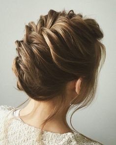 fishtail wedding hairstyles updo