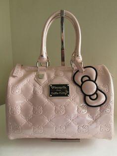 Loungefly Hello Kitty Pink Embossed Small Duffle Handbag Satchel    Clothing, Shoes & Accessories, Women's Handbags & Bags, Handbags & Purses   eBay!
