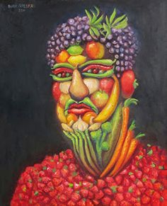 Photo of Paint like Archimboldo - Obst Artists For Kids, Art For Kids, Giuseppe Arcimboldo, Veggie Art, Amazing Food Art, Paper Collage Art, Art Drawings For Kids, Expressive Art, Illusion Art