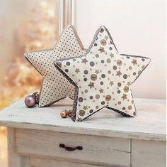Polštářek ve tvaru hvězdy