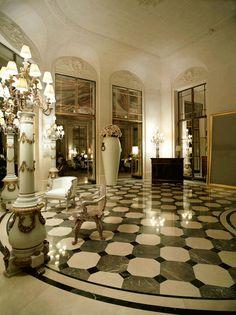 Again, most beautiful hotel in Paris, La Meurice