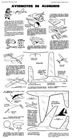 Planitos de Lupin. Avioncitos de aluminio Soda Can Crafts, Diy And Crafts, Paper Crafts, Paper Model Car, Paper Models, Paper Aircraft, Airplane Crafts, Aircraft Design, Model Airplanes