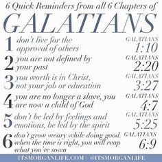 The book of Galatians is one of my favorite books of the bible. It is very clear that the Apostle Paul wanted to help the Galatians get it right. He wanted them to see the importance of not falling for every false teacher or lie that came by, but to focus instead on God approval (Galatians 1:10). For followers of Christ, sometimes, this can be easier said than done. Our emotions, feelings, experiences, and even our culture at large can have us getting distracted and completing neglecting to…