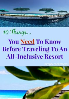 All-inclusive resorts are becoming popular while vacationing in tropical destinations. Here are ten tips you need to know before staying at one. All Inclusive Vacations, Vacation Destinations, Vacation Trips, Family Vacations, Hawaii Honeymoon All Inclusive, All Inclusive Mexico, Honeymoon Trip, Mexico Resorts, Honeymoon Places