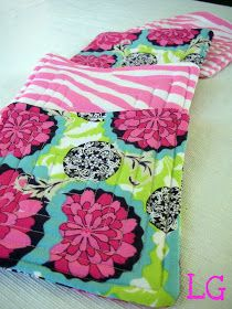 The Little Giggler: Fabric Scraps to Coasters {a tutorial}