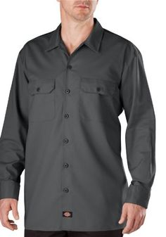 Dickies WL357 Men's Long Sleeve Ring Spun Work « Impulse Clothes