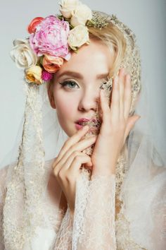 The Allover And Nearly Allover Lace Veil