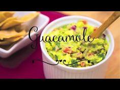 Como fazer Guacamole. Mexicano
