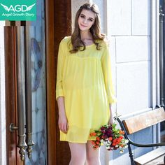 Find More Dresses Information about Summer Pregnant Woman Maternity Chiffon Dress Clothing Clothes Pregnant Women Spring Loose Thin Section Dresses,High Quality dress clothes baby,China clothes for a summer hotel Suppliers, Cheap clothes basket from Angel Growth Diary on Aliexpress.com