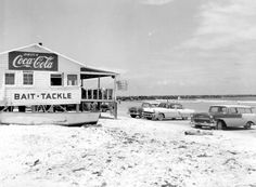 Florida Memory - Kelly's fish camp at the foot of the jetty - Mayport, Florida 1957; went to this place for drinks & snacks.