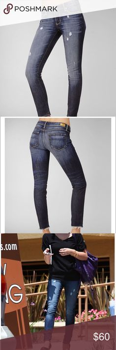 "Paige premium skyline jeans in rebel New! Never been worn! Paige skyline ankle peg jeans in rebel. Size 27. Seen on Ashely Greene. 29"" inseam. 8 and 1/2 "" front rise. 12"" leg opening. 15 3/4"" knee opening. Sold out on the website! Any questions LMK! Paige Jeans Jeans Skinny"