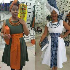 Latest Shweshwe Styles for Fashion Lovers - Reny styles