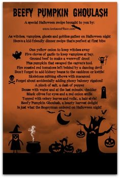 Beefy Pumpkin Ghoula