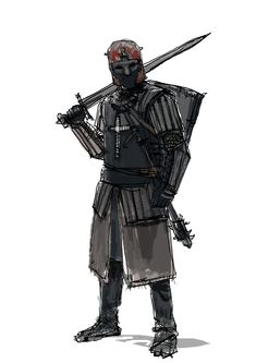 Fantasy Character Design, Character Concept, Character Inspiration, Character Art, Medieval Art, Medieval Fantasy, Fantasy Armor, Dark Fantasy, Armor Concept