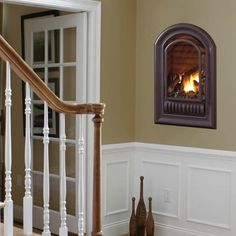 www.FSfireplace. A-Series Arched Gas Fireplace Insert