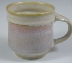 Porcelain Mug with Rosy Glaze by RaysPottery on Etsy