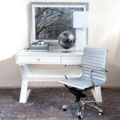 Z Gallerie The Art Of Mix Jett Desk White Lacquer Home Design Decor Pinterest Desks And Bedrooms