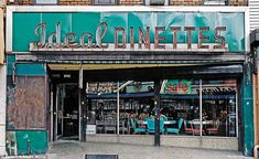 Ideal Dinettes located in Bushwick, Brooklyn was in business from 1953 - 2008  Photo by James T. & Karla L. Murray