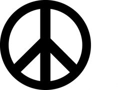 peace sign clipart | Peace Sign Clip Art