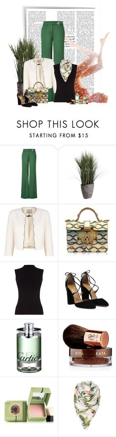 """""""The Assistant"""" by dicabria ❤ liked on Polyvore featuring RED Valentino, Pier 1 Imports, Jacques Vert, Giancarlo Petriglia, Oasis, Vita Liberata, Benefit and Ted Baker"""