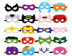 HAMMERHIT Superhero Felt Masks 20 pcs Cosplay Character Soft Mask Party Favor Supplies for Kids Boys or Girls -- To view further for this item, visit the image link. (This is an affiliate link) Christmas On A Budget, Christmas Fun, Christmas Stocking Stuffers, Christmas Stockings, Up Halloween Costumes, Felt Mask, Batman Party, Cosplay Characters, Kid Character