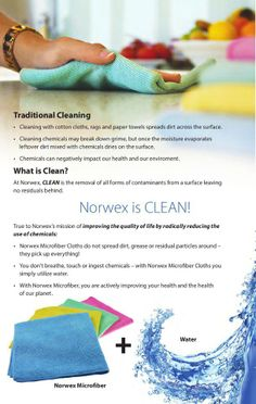 What is CLEAN? Let this picture tell you! But I wanna show you! Contact me today! www.juliedevine.norwex.biz