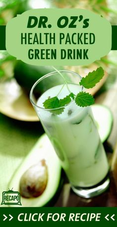 Dr. Oz has a new green drink recipe he said he has been very excited to share with his viewers. He has been working on the recipe for a long time and has finally come up with the perfect drink to increase enzyme production and boost your immunity.