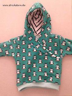 baby Pullover nähen nach kostenlosen Schnittmuster - Einfach Anleitung selbst gemachter Pullover