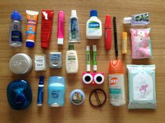 packing list for japan in summer - Toiletries for summer in Japan