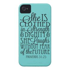 Clothed in Strength & Dignity iPhone 4 Case-Mate Cases http://www.zazzle.com/clothed_in_strength_dignity_case-179414225078219354?rf=238675983783752015