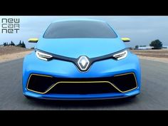 NEWCARNET - Renault has taken its all electric ZOE hatchback and added some Formula E race-car knowhow, to create the striking ZOE e-sport concept. Electric Cars, Electric Vehicle, Renault Zoe, Car Videos, Worlds Of Fun, Race Cars, Concept, Vehicles, Sports