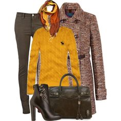 Goldenrod and Tweed