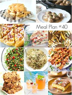 Weekly Meal Plan #40 - Lots of healthy and delicious recipes for  everyone - Ioanna's Notebook