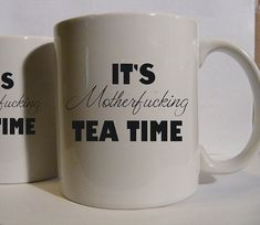 Would this be inappropriate for work? Because all three of the editors on our staff drink tea.